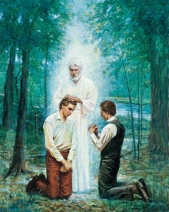 Aaronic Priesthood Given To Joseph Smith