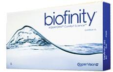 Biofinity Contact Lens Box