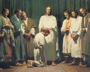 Jesus Christ Ordaining The Apostles