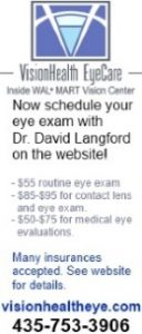Schedule an eye exam with Dr. David Langford on the website at visionhealtheye.com!